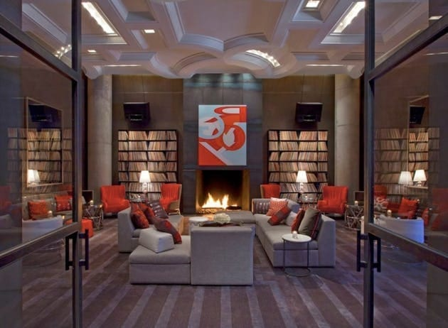 Living Room at W Austin