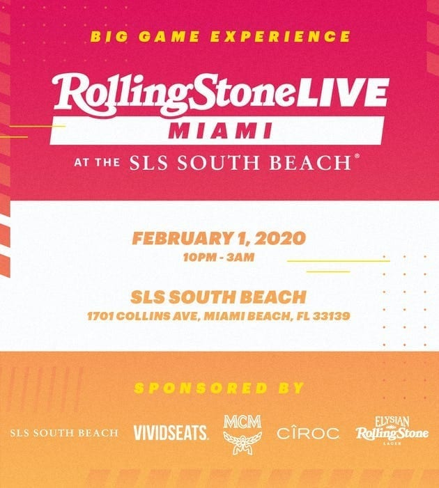 Hyde South Beach Rolling Stone Party