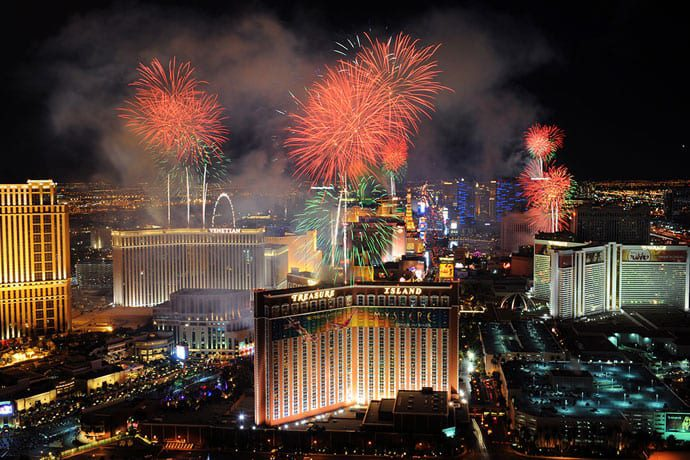 Here's How You'll Greet 2017 In Vegas