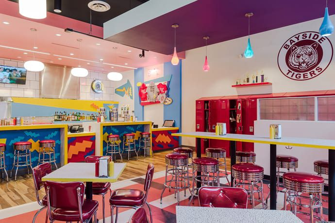 This Is What a Saved by the Bell Tribute Restaurant Looks Like