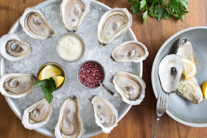 An Attractive Culver City Rallying Point for Oysters and Wine