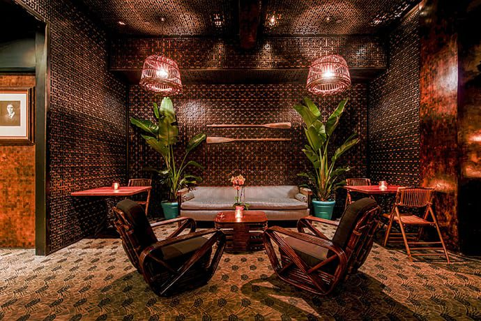 Just a Dazzling Tiki Bar From the Melrose Umbrella Co. Crew