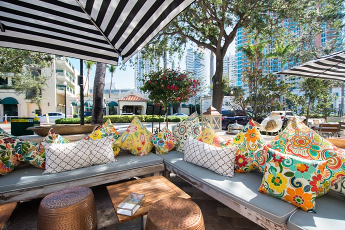 There's a New Italian Spot South of Fifth. That New Italian Spot Has a Garden Patio.