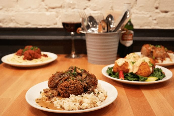 A FiDi Lunch Spot Dedicated Entirely to Meatballs