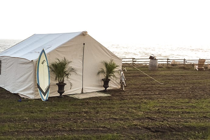 One of Those Build-Your-Own Glamping Situations