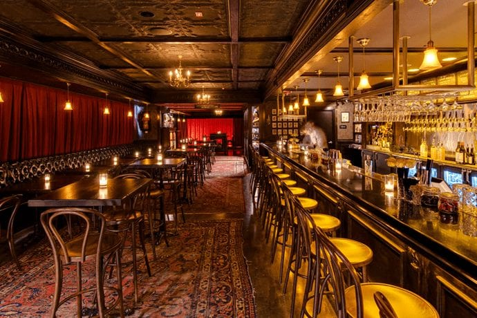 A Dine-In Theater Sets Up Shop in Downtown Brooklyn