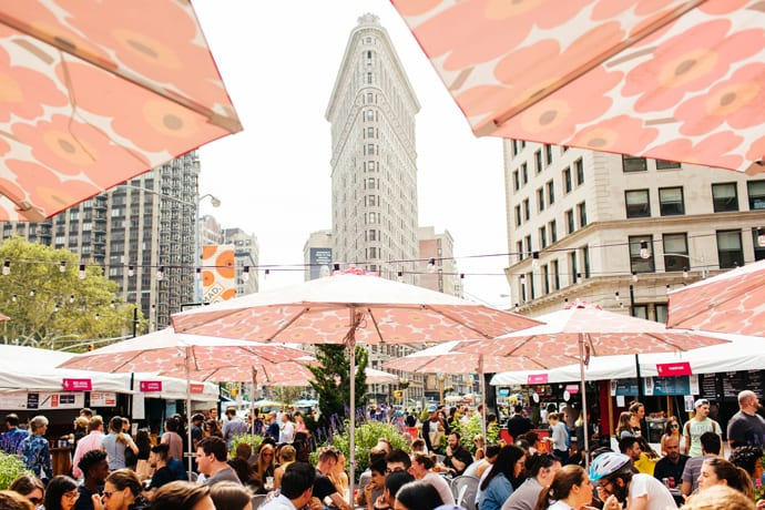 Urbanspace's Outdoor Pop-Ups Are Back for the Season