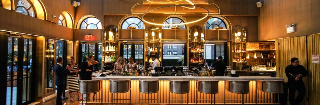 A Stunning, Sky-Scraping '20s-Inspired Lounge With David Burke in the Kitchen