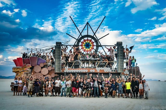 Mayan Warrior Brings Its Celebrated Burning Man Art Car to the Brooklyn Mirage This Weekend