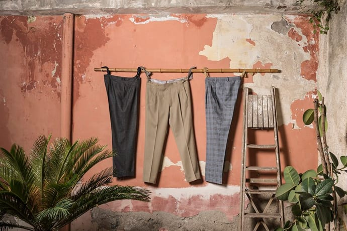 Your Legs Yearn For These Bespoke Italian Trousers