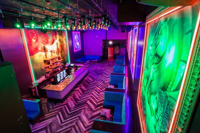 LiqrBox Might Be River North's Most Over-the-Top Nightclub
