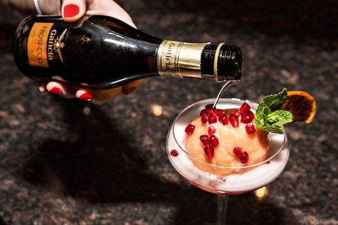 Caviar-Topped Things and So Much Champagne in River North
