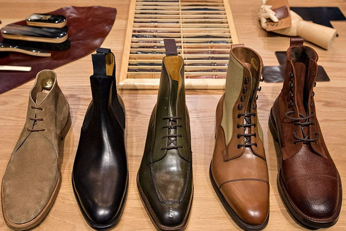 Drink Whiskey. Procure Made-to-Order Shoes. Wear. Repeat.